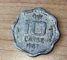 1987 India 10 Paise