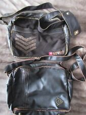 Men's Bags x2 - with straps DISTRESSED Style - SOVIET & DUNLOP