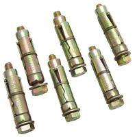 M8 X 60 MASONRY CONCRETE EXPANSION BOLTS WALL RAWL BOLTS S5925 6 PACK