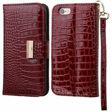 Leather Glossy Mobile Phone Cases & Covers for iPhone 6 Plus