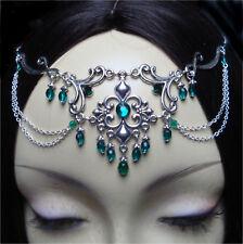 ^v^Stirnschmuck*Aphrodite*Gothic*LARP*circlet*medieval*Fleur de Lys*Tiara^v^