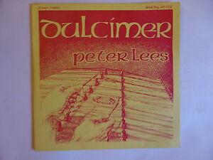 "DULCIMER BY PETER LEES 7"" vinyl EP Goatbag Records 1981 GB 002"