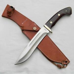 AG RUSSELL Seki, Japan large 2003 Camp Knife, AUS-8 blade, orig sheath, UNUSED