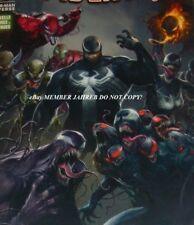 Edge of Venomverse #1 Mattina Euro Variant 1:50 Panini Venom Spider-Man Universe