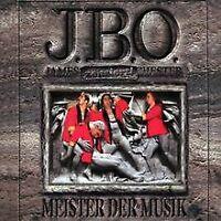 Meister der Musik von J.B.O. - James Blast Orchester   CD   Zustand gut
