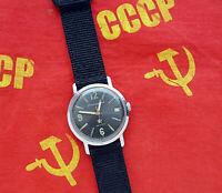 Early Vintage Russian mechanical watch Komandirskie. MILITARY. CHISTOPOL USSR