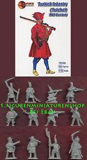 1:72 personaggi 72104 Turkish Infantry (tufekei) 17th Century-Mars NUOVO