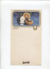 N°8865 /  carte menu liqueur Cointreau avec illustration de Jean A.Mercier