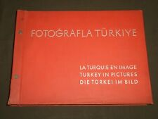 1930 FOTOGRAFLA TURKIYE BOOK BY MATBUAT UMUM MUDULLUGO - NICE PHOTOS - KD 5639