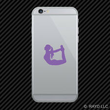 (2x) Yoga Cell Phone Sticker Mobile many colors