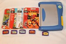 Leapfrog Leappad Learning System Plus Writing with books and cartridges read
