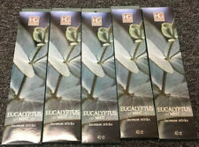 Eucalyptus Mint Incense Sticks HG Global 5 Packs of 40 sticks And More
