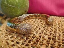 Belle gold bangle bracelet