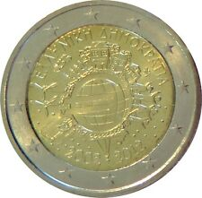 026 - 2 EUROS COMMÉMORATIVE GRECE  - 2012 - 10 ans de l'Euro