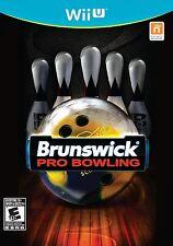 NEW Brunswick Pro Bowling (Nintendo Wii U, 2015)