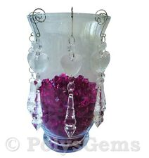 5 ACRYLIC CRYSTAL GARLANDS  LARGE DROPLET WEDDING TABLE DECORATIONS