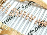100pcs - 1.5K (1K5) 1/4W 0.125W 5% Resistor - NOS Non-Rohs