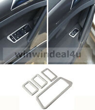 FOR VW GOLF 7 MK7 VII WINDOW MIRROR SWITCH TRIM COVER STICKER STAINLESS STEEL