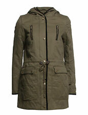 Vila Womens Malloni Padded Coat Jacket Size Large BNWT RRP £68 Ivy Green