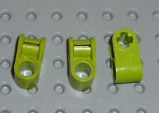 LEGO-TECHNIC ejes y Pin Conector perpendicular Lima x 3 (6536) TK273