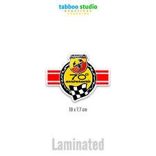 Sticker Abarth 70° Anniversary Scorpio Fiat 500 Car Kart Rally Tuning 124