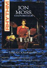 JON MOSS / CULTURE CLUB / STEFAN KAUHMANNRhythmno.12June1986