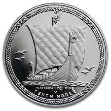 Isle of Man 1/10 oz Platinum Noble Proof - SKU #33709