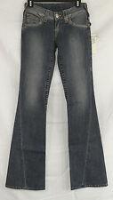 True Religion NEW Size 25 Flare Twisted Seam Spade Pocket Jeans in Trailblazer