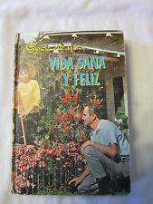 Goce de una Vida Sana Y Feliz [Hardcover] By Pedro D. Tabuenca 1967