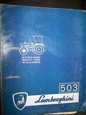 LAMBORGHINI tracteur 503 : catalogue de pièces