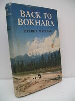 Book, Back to Bokhara by Fitzroy Maclean, 1959, HB