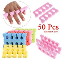 Pedicure Manicure Finger Toe Separator Nail Care Sponge Foam Nail Art Tools