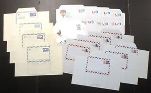 UN & US Unused Mint Postal Stationery Entire Air Letters / Aerogrammes
