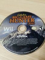 Cabela's Big Game Hunter 2010 - Nintendo Wii - Disc Only - Tested!