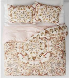 Opalhouse Desert Rose Medallion Cotton Blend TWIN Duvet Cover With 1 Pillowcase