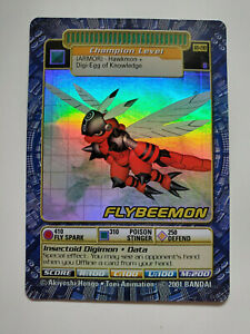 Digimon - Holofoil - Flybeemon BO-190 - Combine Ship W/Cart - SEE IMAGES