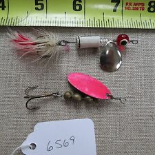 New listing Vintage fishing lure spinners (lot#6569)