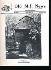Old Mills News Magazine October 1978  Huntland TN