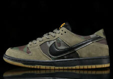 Nike SB Zoom Dunk Low Pro SKATE CAMO CAMOUFLAGE OLIVE GREEN 854866-209 sz 7 Men