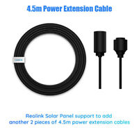 4.5m Power Extension Cable For Reolink Solar Panel Heavy Duty And High Quality