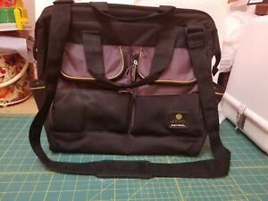 Jeep diaper bag Baby Bag Black, Green, Gray Messenger style. Excellent Condition