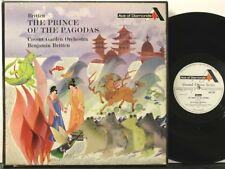 Decca GOS 558-9, all 1G, Britten, Prince of the Pagodas, Britten, ROHO, TAS