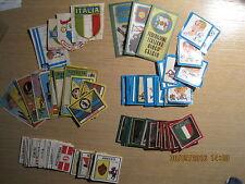 SCUDETTI E PROSDOCIMI CALCIATORI PANINI 1968/69 1969/70 1970/71  1971/72 ENTRA