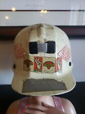 Vintage MSA Comfo Cap Miner's Hard Hat