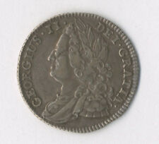 More details for george ii, sixpence, 1743, roses, vf