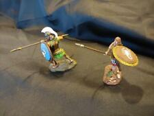 *CONTE' CUSTOM HAND PAINTED, GREEK HOPLITES, COLLECTIBLES SET #1, 65MM SCALE*