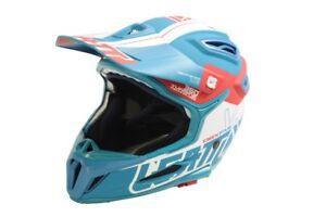 Leatt DBX 5.0 2018 Full Face Enduro Helmet Medium 57-58cm Fuel / Red (RRP: £280)