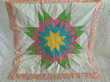 Lone Star Patchwork Quilt Top#Ls-002
