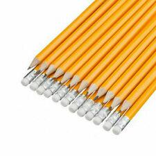 HB Pencils Pre sharpened Rubber Eraser Tip Pencil School Office Art Drawing