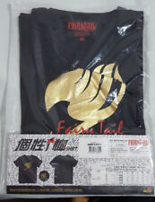Fairy Tail Gold Guild Symbol Premium Quality Black XL T Shirt by Muse, Anime